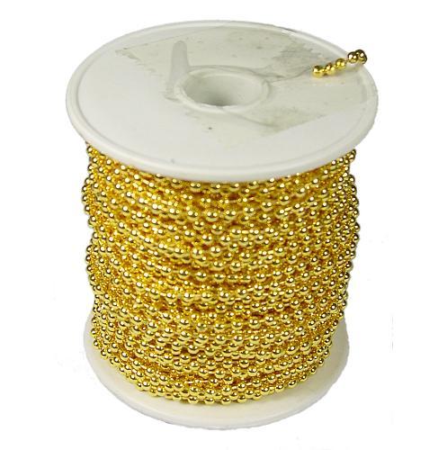kogelketting goud kleurig haspel klein
