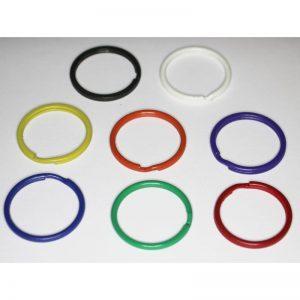 sleute;ring kleur gekleurd